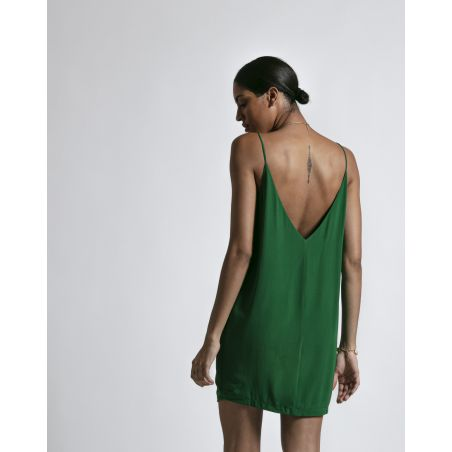 MAEVA SILK SHORT DRESS
