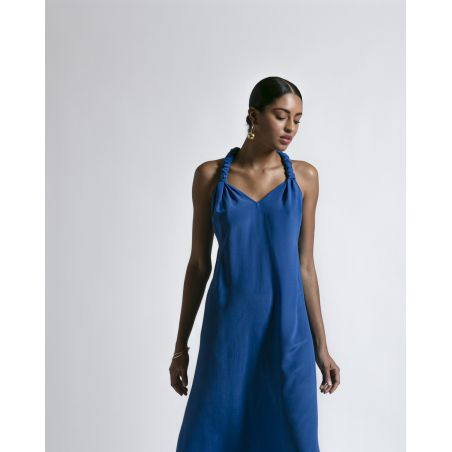 MARCEL SILK LONG DRESS
